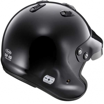 Arai GP-Jet 3 Black Open Helmet Snell/FIA 8858 SA2015 XL