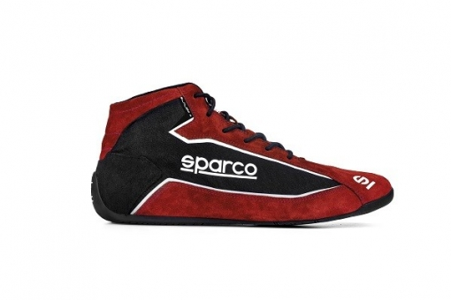 SPARCO SLALOM+ Schuhe, Shoe red-black