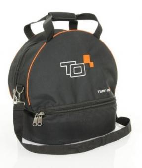 Turn One Helmet and HANS bag